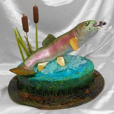Rainbow Trout Cake by Vickie (myersark)
