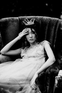 Wear your tiara.