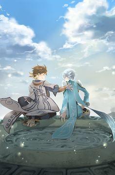 Tales of Zestiria Manga, Tales Of Berseria, Tales Of Zestiria, Fan Anime, Tales Series, Tv Show Games, Anime Characters, Fictional Characters, Shounen Ai