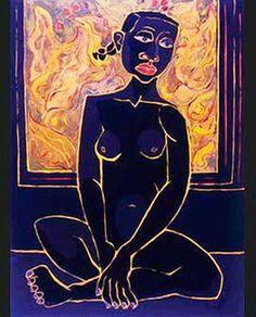 ''Niña negra'' 1948 Oswaldo Guayasamín