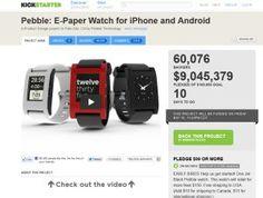 El reloj Pebble recauda 9 millones de dólares | Tecnología | EL PAÍS