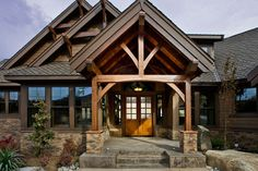 Craftsman Style House Plan - 3 Beds 2.5 Baths 3780 Sq/Ft Plan #132-207 Exterior - Outdoor Living - Houseplans.com