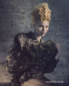Indira Schauwecker 2012 Avant Garde Hairdresser of the Year Finalist