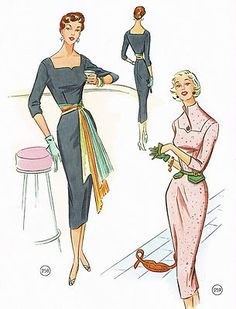The Golden Rule 1956 Lutterloh 255 Sewing Patterns RAR Used Vintage Book | eBay