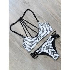 SHARE & Get it FREE | Geometric Print Strappy Bathing SuitFor Fashion Lovers only:80,000+ Items·FREE SHIPPING Join Dresslily: Get YOUR $50 NOW!