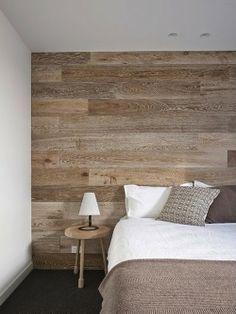 Wall paneled bedrooms- limed oak