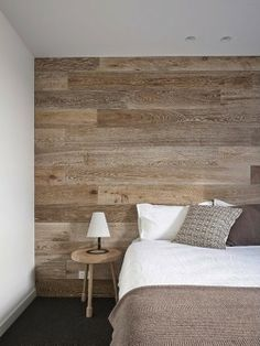 Wall paneled bedrooms- limed oak