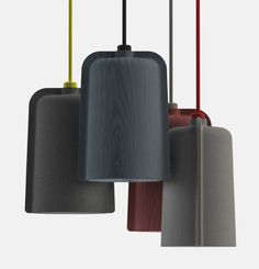Products we like / Press Pendant / Lamp / Furniture / Wood / at I Seaton McKeon