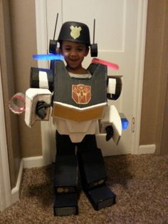 rescue bots diy costume out of diaper cardboard boxes phillip and judah pinterest rescue bots diy costumes and costumes - Diaper Costume Halloween