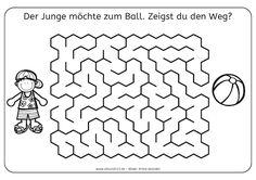 407 best Labirintai images on Pinterest | Activities for kids ...