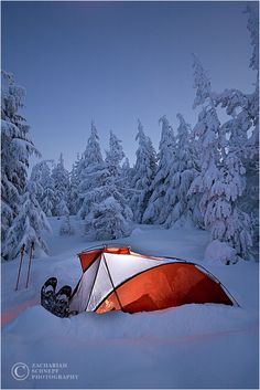 Winter camping was something we did a lot of back in my Boy Scout days.  I can't seem to talk my wife into giving it a try!