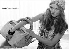 Vanessa Paradis in Coco Cocoon Chanel ad