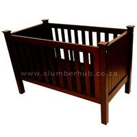Bradley Cot Wide selection of Nursery and Children's furniture from Slumber Hub. Visit www.slumberhub.co.za for more info.