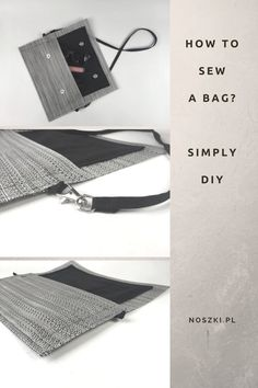 How to sew a simply bag?
