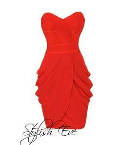 Vestido rojo... hermoso!!