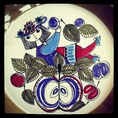 """Figgjo Flint """"Corsica"""" pattern"""