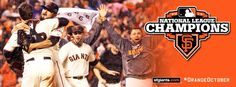 Giants shut out the Cardinals in Game 7 of the NLCS and head to the World Series!  #OrangeOctober