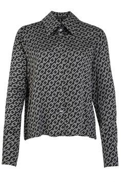 Drykorn Damen Bluse Charlad Schwarz/Grau | SAILERstyle Trends, Shorts, Men Sweater, Tops, Sweaters, Fashion, Blouses, Hot Pink Fashion, Grey