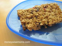 Gluten-Free Protein Bars | Easy alternative to expensive store-bought bars | MoneywiseMoms