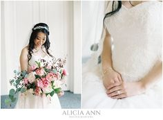 Film bridal portraits - shot with a Contax 645 with Fuji 400h medium format film - Wadsworth Mansion - Middletown, CT.