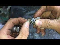 hướng dẫn làm van nạp 1 chiều súng pcp - YouTube Silver Rings, Make It Yourself, Youtube, Youtubers, Youtube Movies