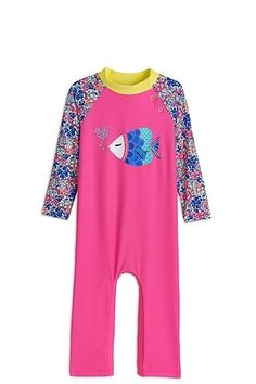 48747266e7 Baby Girl Beach One Piece Swimsuit UV protection. Protect your little ones  from the sun
