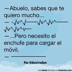 Abuelo, sabes que te quiero mucho. #humor #risa #graciosas #chistosas #divertidas