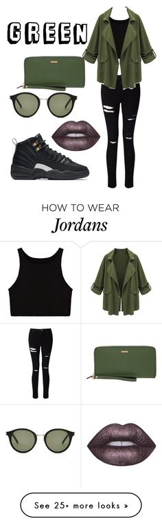 Untitled #95 by smilesonly8 on Polyvore featuring Miss Selfridge, NIKE, Lime Crime, Yves Saint Laurent and Lodis