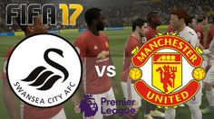 Swansea City vs Manchester United in this FIFA 17 gameplay of the Premier League season, this match being played on the at the Liberty S. Fifa 17, Paul Pogba, Swansea, Manchester United, Premier League, The Unit, Seasons, City, Hand Fan