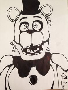 And finally, here's Withered Freddy!