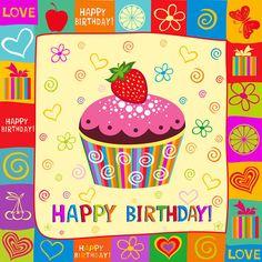 Cute Happy Birthday Wallpaper