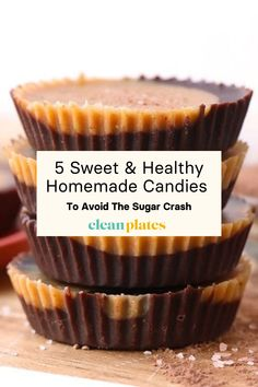 Looking to cut back on sugar but don't want to give up the sweet treats? Check out these 5 sweet and healthy homemade candies that are sure to satisfy — without leaving you in a sugar-crash coma. #candy #healthycandy #healthysnacks #healthyaesthetic #food #healthyrecipes #healthydessert #healthy #healthiswealth #healthyfood #healthylifestyle #cleanplates Low Sugar Desserts, Healthy Desserts, Healthy Recipes, Healthy Candy, Eat Healthy, Peppermint Patties, Homemade Candies, Quick Snacks, Candy Recipes