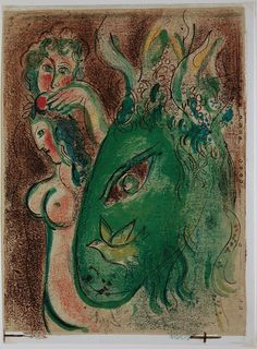 Paradise, Marc Chagall 1960
