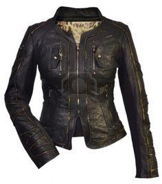 women leather jacket Stock Photo - 13863022