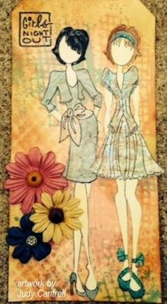 Stamped Impressions: Girls Night Out with Julie Nutting Stamps