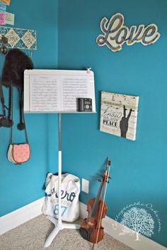 Music Corner in teen room