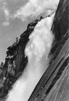 Ansel Adams  Nevada Fall,  Yosemite National Park  c. 1932    ©The Trustees of the Ansel Adams Publishing Rights Trust