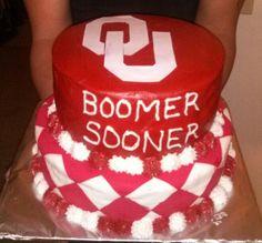 ou sooner cake | OU Sooner cake