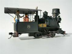 Backwoods Miniatures - On30 Bachmann Porter 0-4-0 Conversion