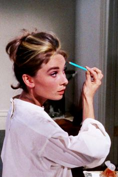 """""""I've got to do something about the way I look. I mean a girl just can't go to Sing Sing with a green face.""""- Audrey Hepburn, Breakfast at Tiffany's. Via @classicmoviehub. #AudreyHepburn #BreakfastatTiffanys"""