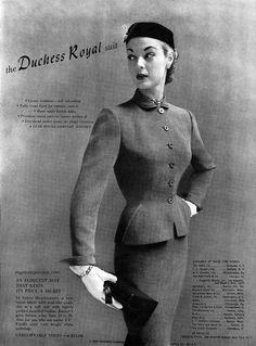 Jean Patchett / Duchess Royal 1951