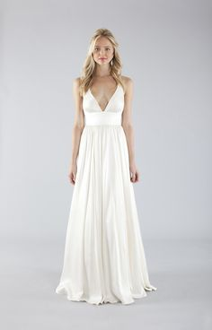 Going to Nicole Miller to try dresses on in about a month.  This is one I like. Elizabeth Bridal Gown - Bridal