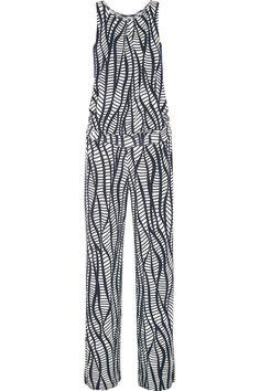 Tart Ailen Printed Stretch-Jersey Jumpsuit, $100; theoutnet.com     - ELLE.com