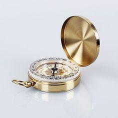 dodocool Reloj del compás clásico de bolsillo del estilo bronceadores de antigüedad para la acampa