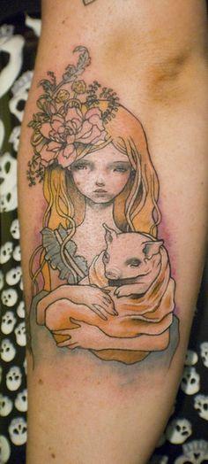 Audrey Kawasaki tattoo http://www.tattoo-bewertung.de