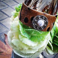 #bracelet #animalprint #leather #feathers #casual #hippylook #fashion_barcelona