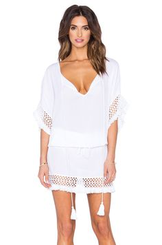 Tt Beach Tyze Caftan in White