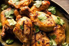 Coconut-Buttermilk Southwestern Grilled Chicken