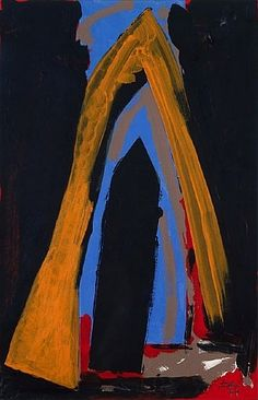 Robert Motherwell, Cathedral (Study) 1971