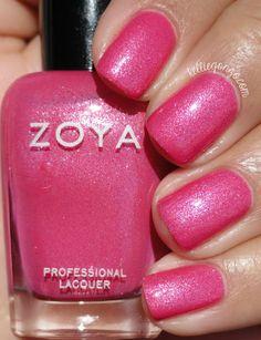 Zoya Azalea // @kelliegonzoblog Zoya Nail Polish, Nail Polish Colors, Thin Nails, Long Nails, Sparkle Nails, Glitter Nails, Beautiful Nail Polish, Long Nail Designs, Nail Blog